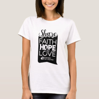 Womens Share Tee (white)