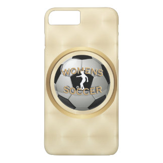 Women's Soccer Ball with Golden Ring iPhone 7 Plus Case