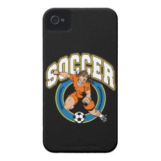 Women's Soccer Logo iPhone 4 Case-Mate Case