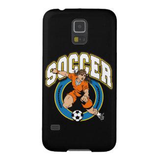 Women's Soccer Logo Case For Galaxy S5