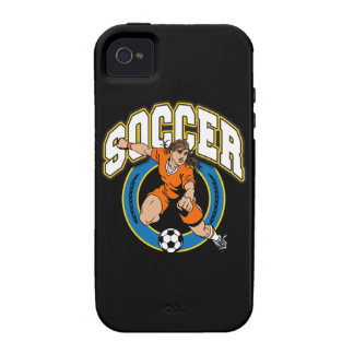 Women's Soccer Logo iPhone 4 Covers