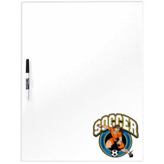 Women's Soccer Logo Dry Erase Whiteboards
