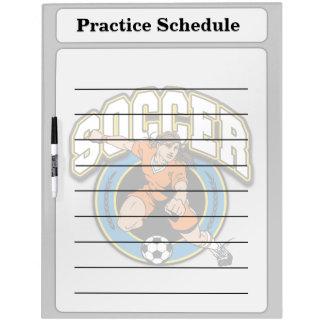 Women's Soccer Logo Dry-Erase Board