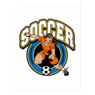 Women's Soccer Logo Postcards