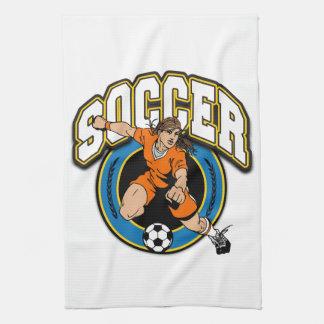 Women's Soccer Logo Towels