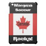 Womens Soccer Rocks!-Canadian Flag