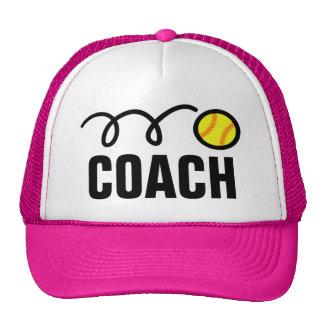Women's softball coach hat / baseball cap