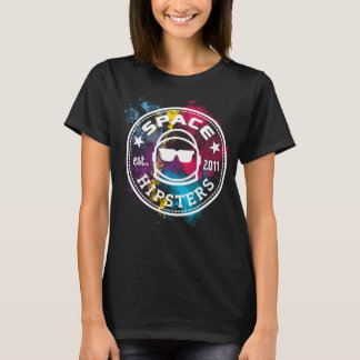 Women's Space Hipsters Nebula T-shirt