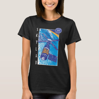 Women's Space Hipsters Skylab T-shirt (black)