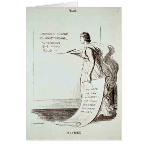 Women's Sphere Revised Greeting Card