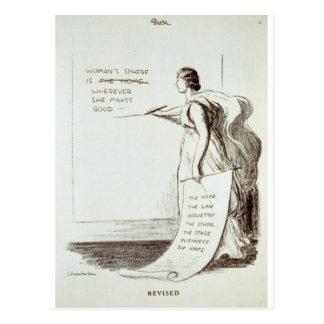 Women's Sphere Revised Postcard