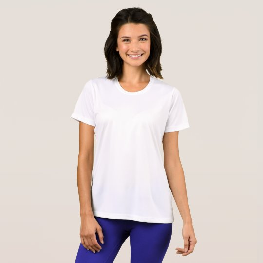 Women's Sport-Tek Competitor T-Shirt, White
