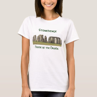 Women's Stonehenge, Home of the Druids T-Shirt
