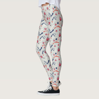 Womens Streetwear: Dancing Arrows and Cherry Bombs Leggings