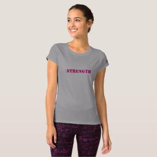 """Women's """"STRENGTH"""" Short Sleeved Fitness Shirt"""