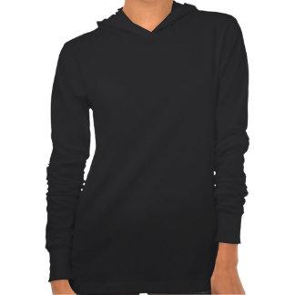 Women's Style  :  Bella Jersey Hoodie BLACK