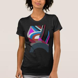 Womens Stylish Modern Abstract Art T-Shirt
