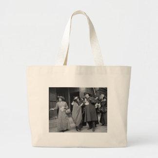 Women's Suffrage Handouts, 1913 Jumbo Tote Bag