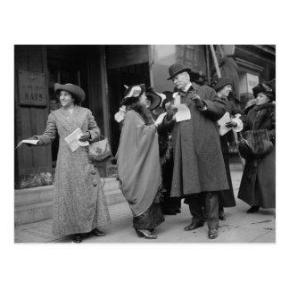 Women's Suffrage Handouts, 1913 Postcard