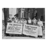 Women's Suffrage Pickets: 1917 Print