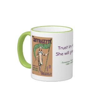 Womens Suffragette Magazine Gift Mug 2