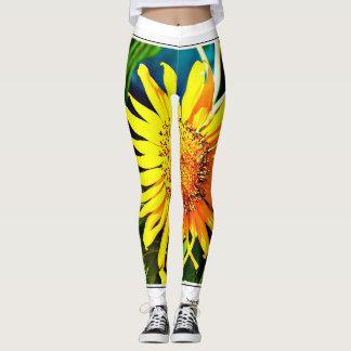 Women's Sunflower Leggings