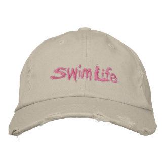 Women's Swim Life Custom Baseball Cap