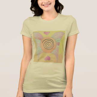 Women's T-shirt: Angel Wings Art - Grace T-Shirt
