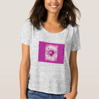 Womens' T-Shirt (Pinkie heart)