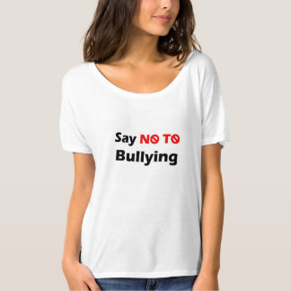 Women's T-Shirt (Say No To Bullying)