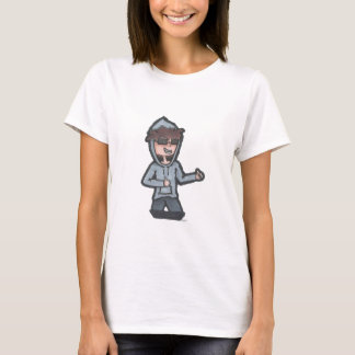 Women's T-Shirt - Snazzy Johnny Ghost