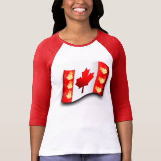 Women's-T-Shirt-White-Red T-Shirt