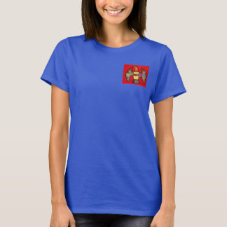Women's T-Shirt with Bold Eagle