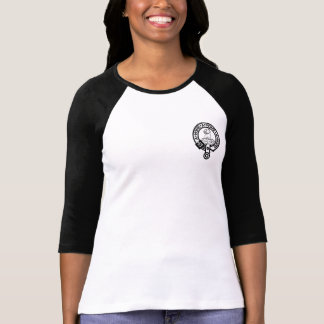 Women's t shirt with Clan Home Crest