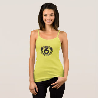 Womens Tank - spaghetti yellow