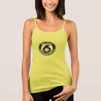 Womens Tank - spaghetti yellow (new)