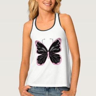 Womens Tank Top-Butterfly