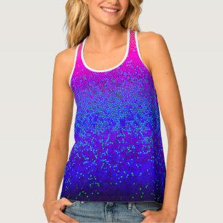 Women's Tank Top Glitter Star Dust