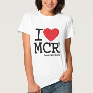 Women's tee - I Love Manchester MCR