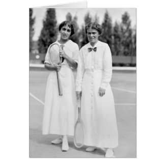 Women's Tennis Champions, 1913 Greeting Card