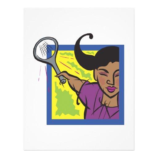 Womens Tennis Flyer