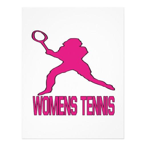 Womens Tennis Flyers