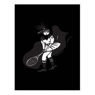 Womens Tennis Postcards