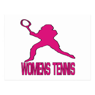 Womens Tennis Post Card