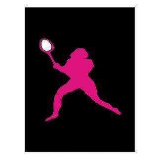 Womens Tennis Postcard