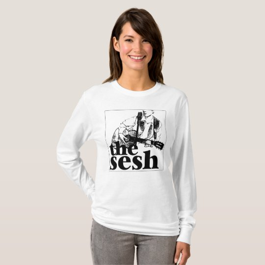 "Women's ""the sesh"" Long-Sleeved Shirt"