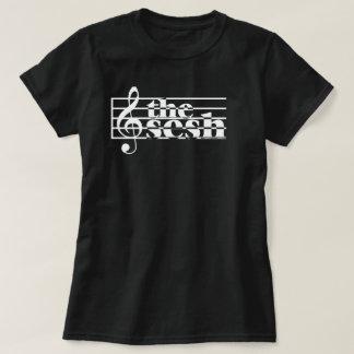 "Women's ""the sesh"" Musical Scale T-Shirt"