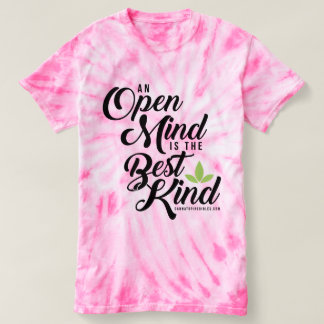 Women's Tie-Dye Cannatopia Open Mind Tee