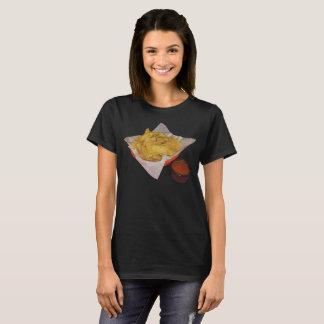 Women's Tortilla Chips and Salsa T-Shirt
