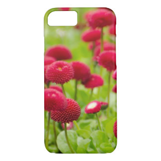 Women's trendy red summer flower  iphone case